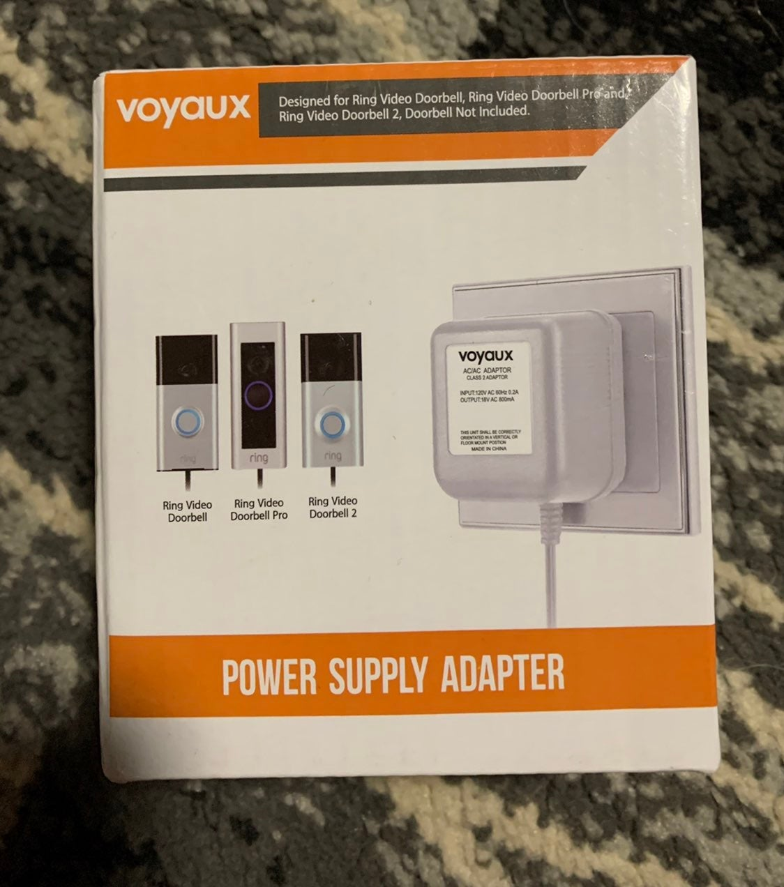 Doorbell Transformer, 16V / 800mA Power