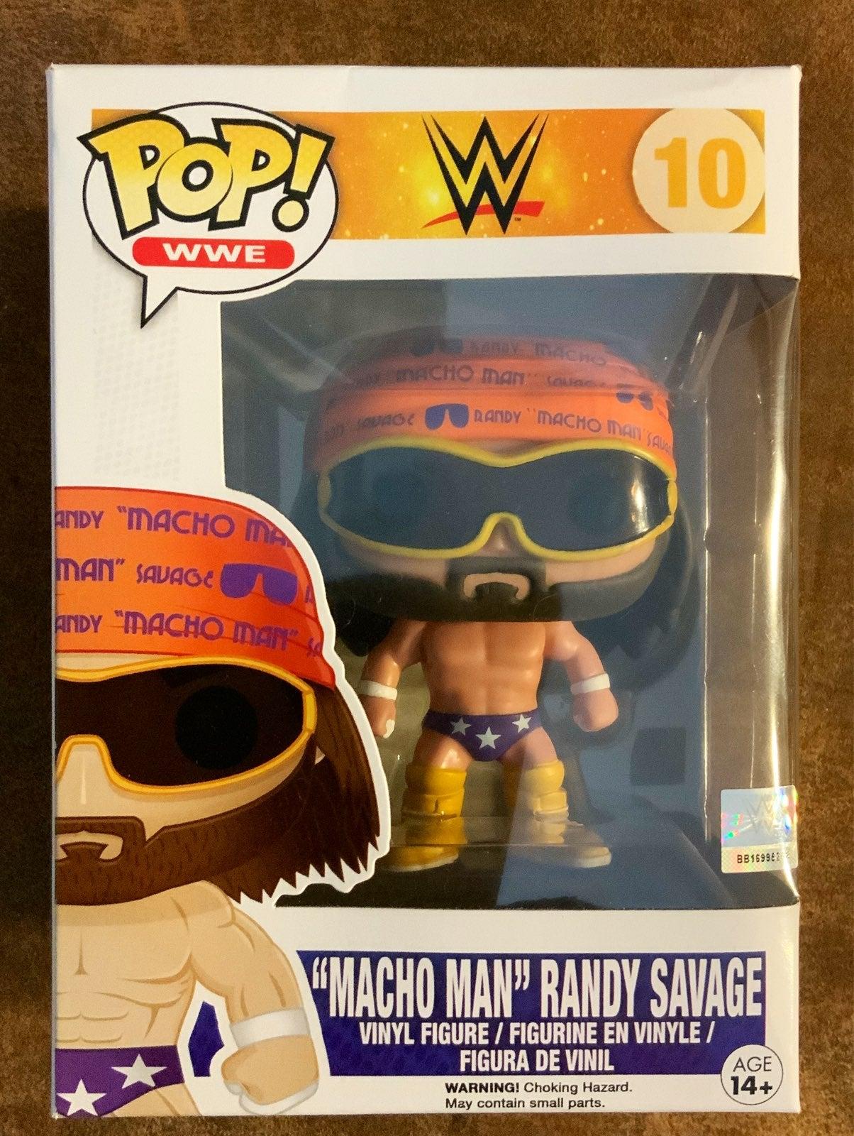 Funko Pop Macho Man Randy Savage WWE FYE