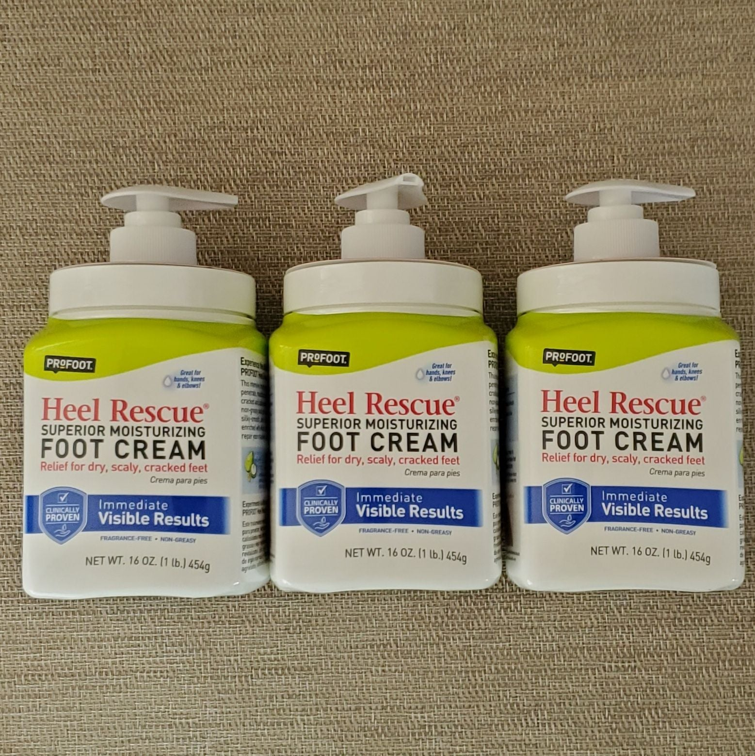 Profoot Heal Rescue Foot Cream- Set of 3