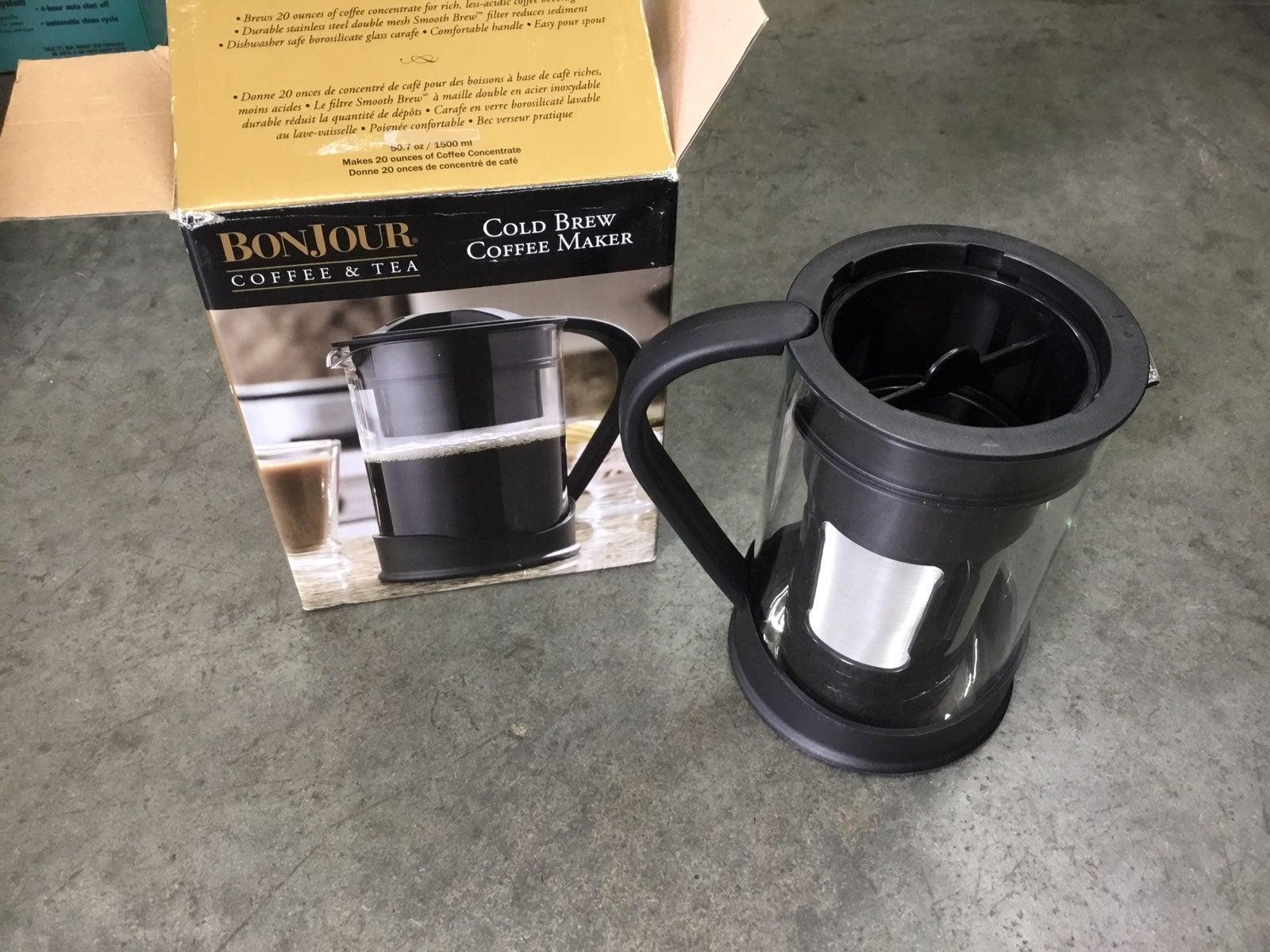 Bonjour cold brew coffee maker