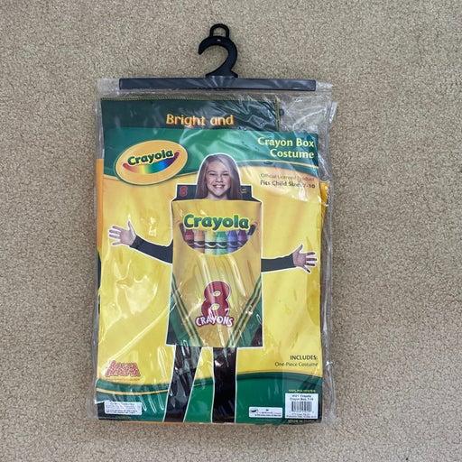Crayola crayon box costume