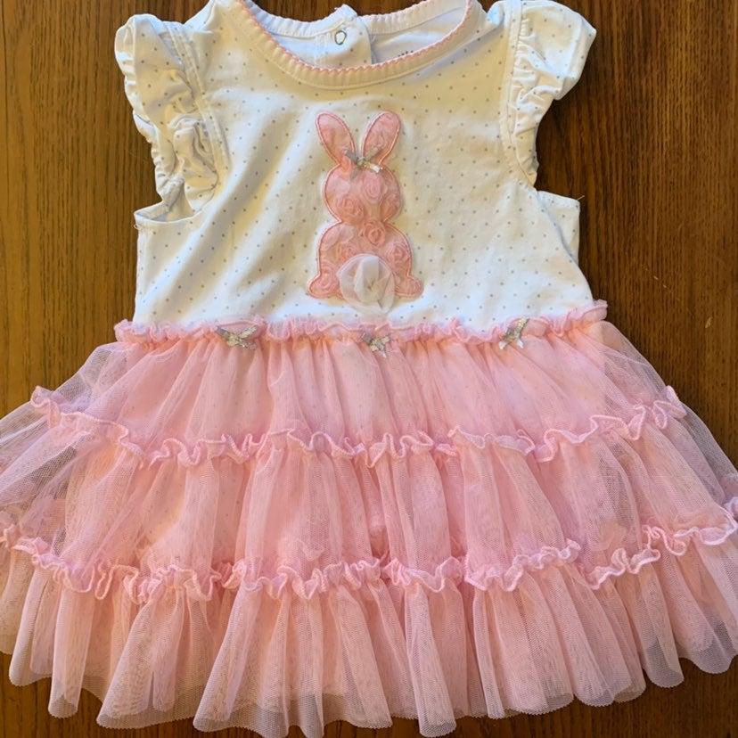 Little Me Bunny Tutu Dress 18/24