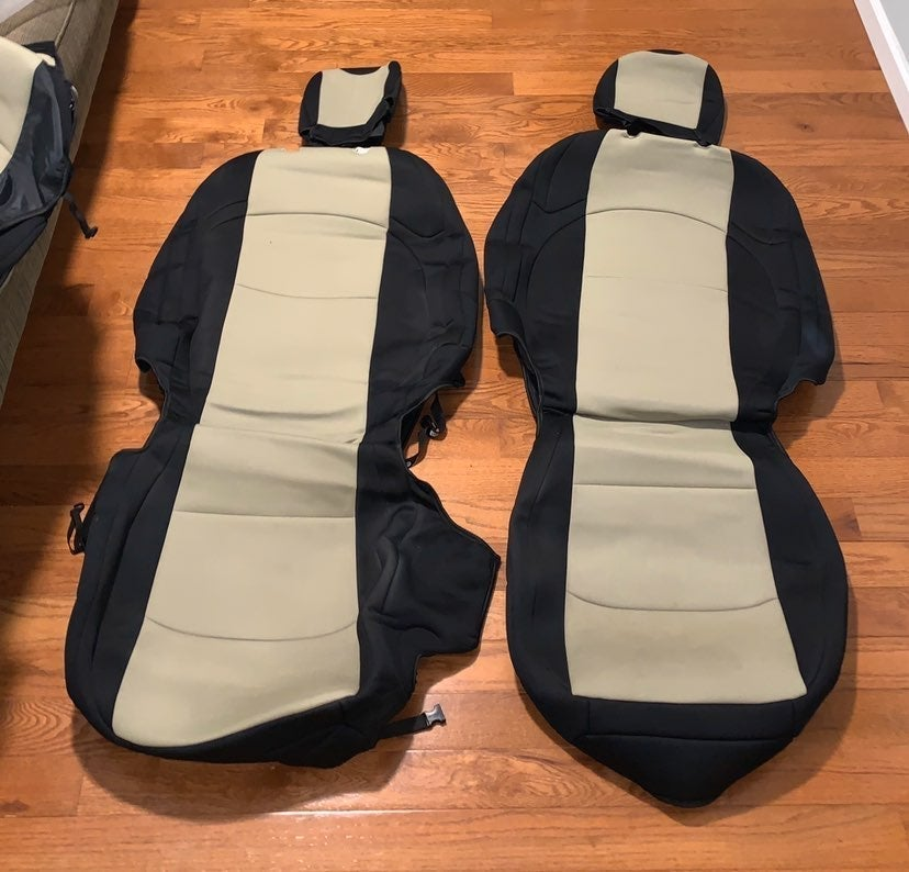 Jeep Wrangler JL neoprene seat covers
