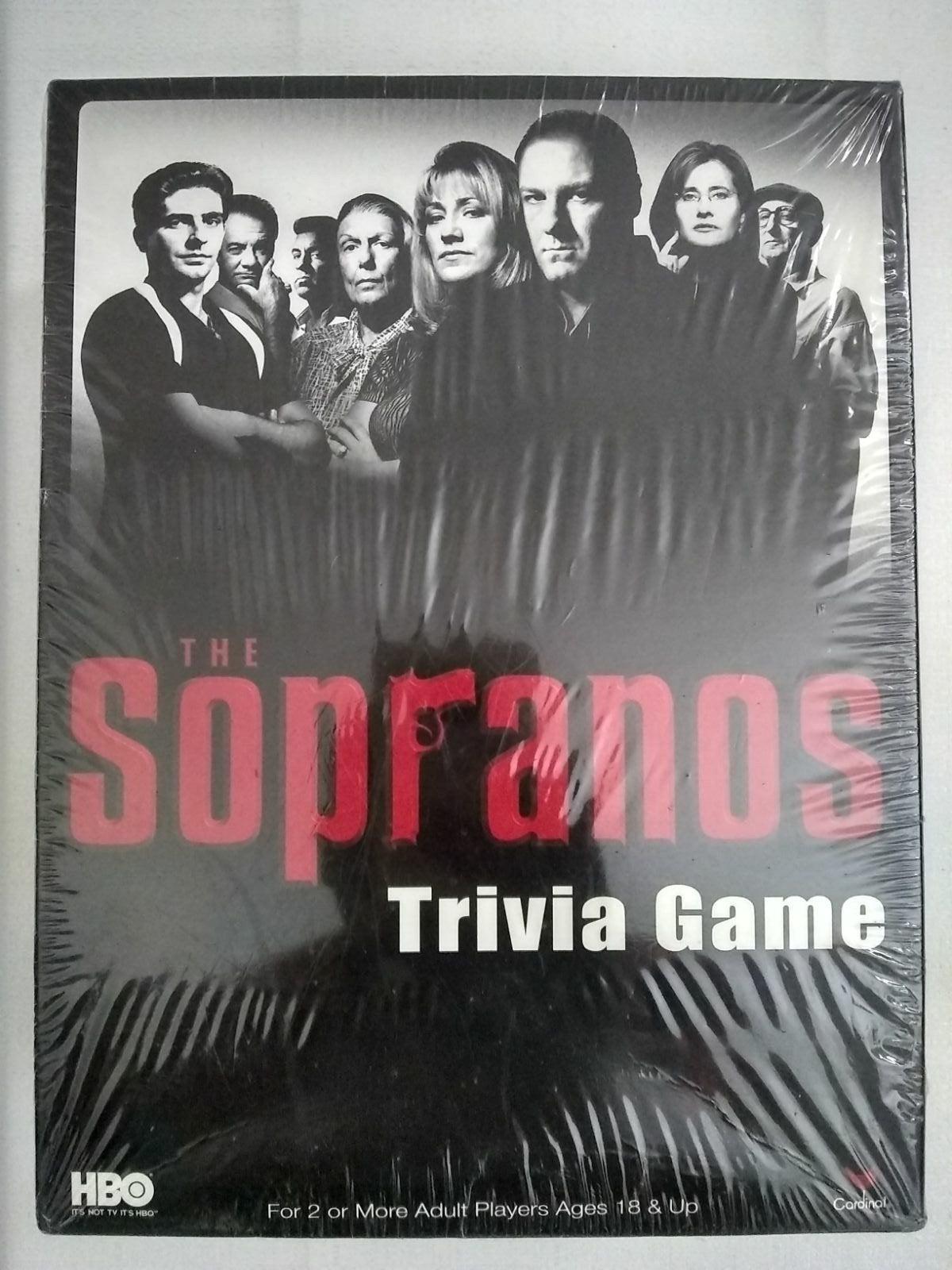 HBO Sopranos Trivia Card Game