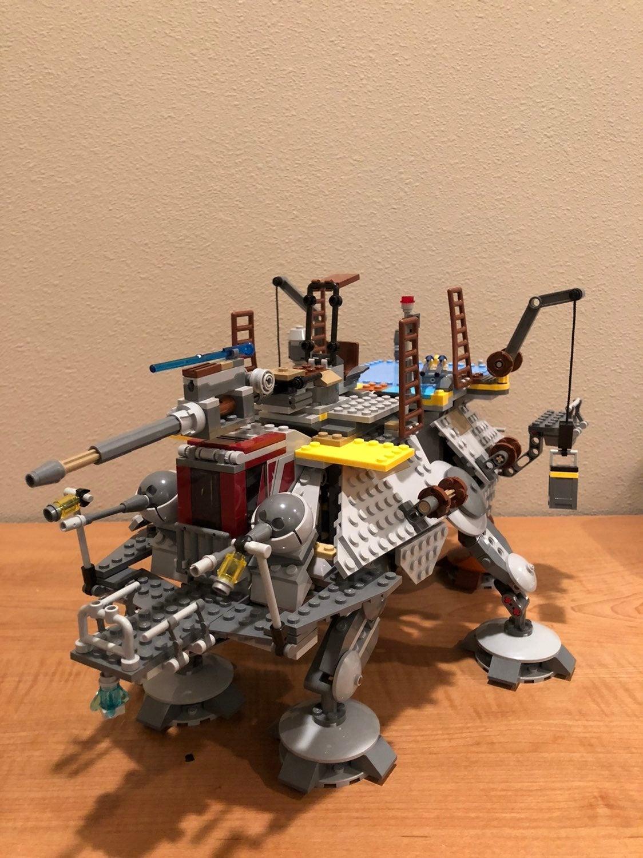 Lego Starwars Rebels Captain Rex AT TE
