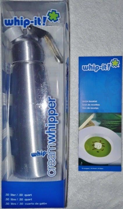 Whip-It!Whipped Cream Dispenser 1/2Liter