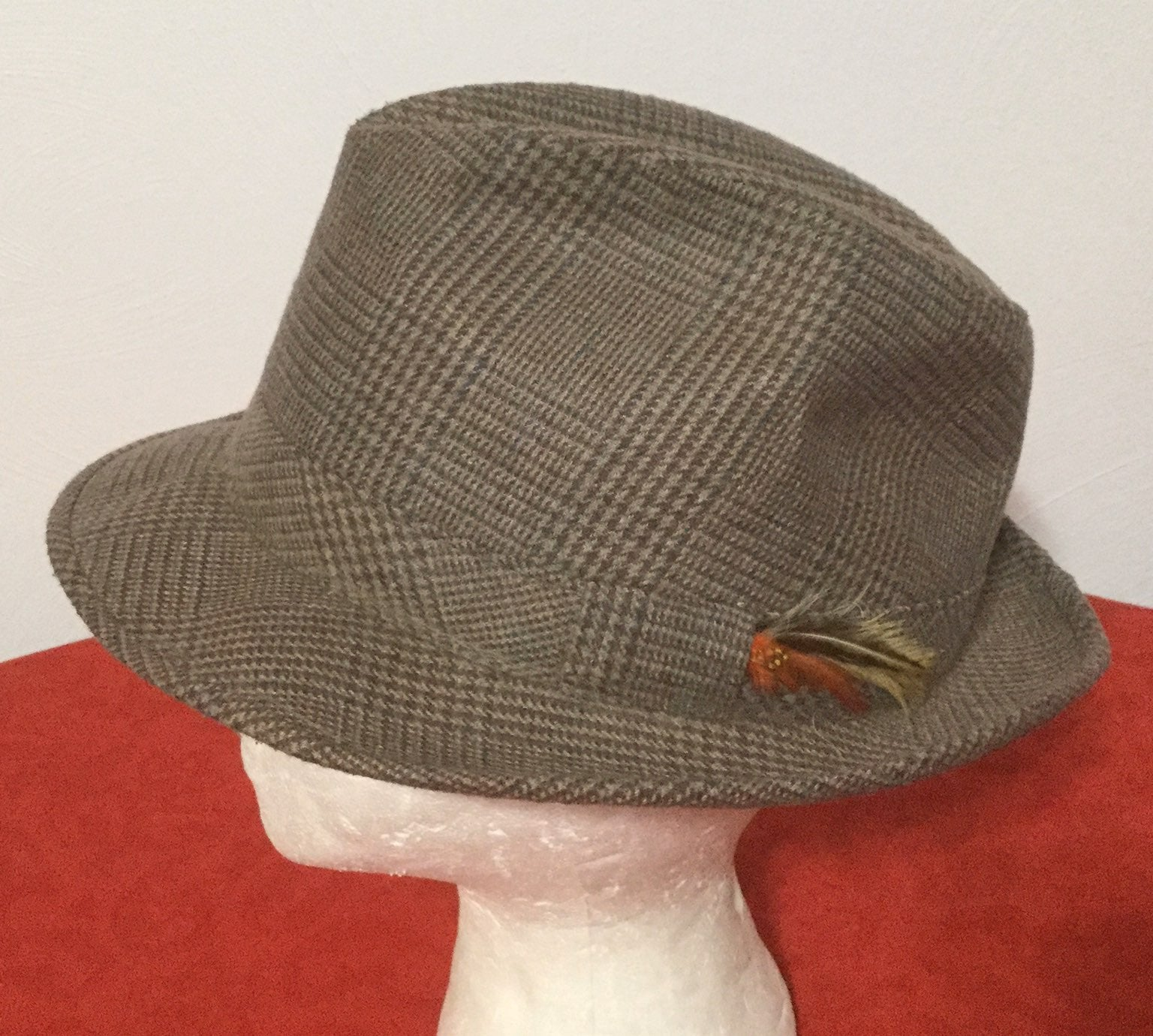Vtg! ADAM NEW YORK Mens L/XL Fedora Hat