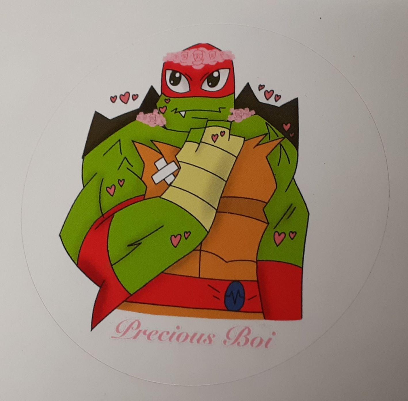 Precious Boi Raphael Sticker