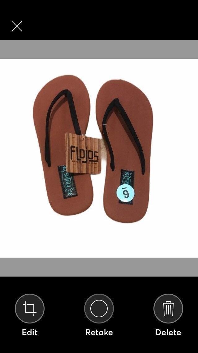 FLOJOS Womens Sandals size 6