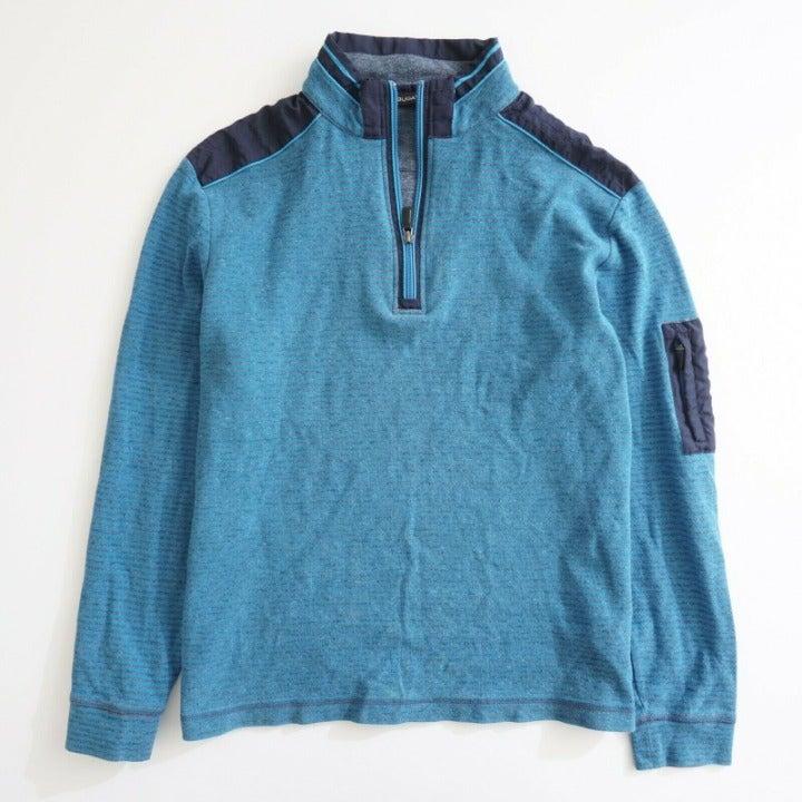 Bugatchi Men 1/4 Zip Pullover Sweater