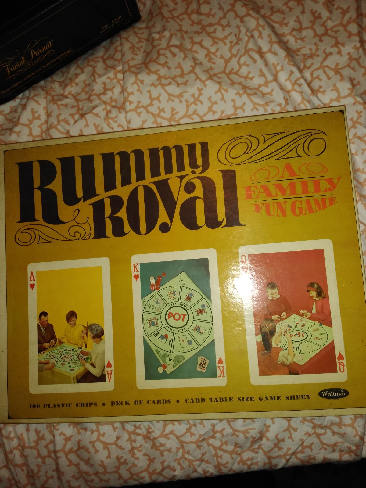 Rummy royal board and card game