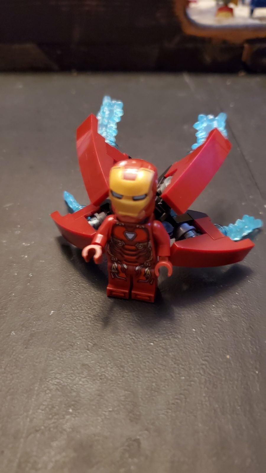 Lego marvel iron man mark 50