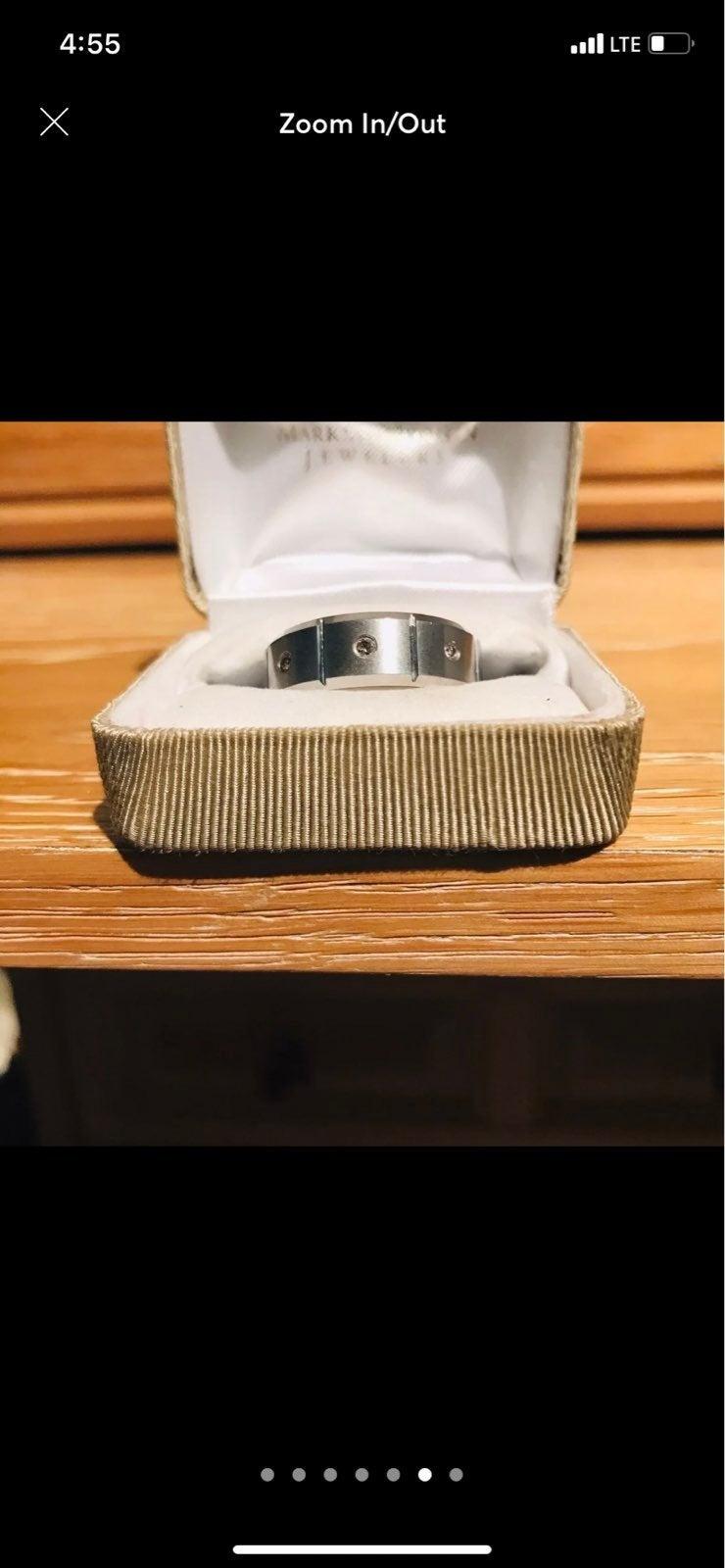 Triton carbide wedding ring