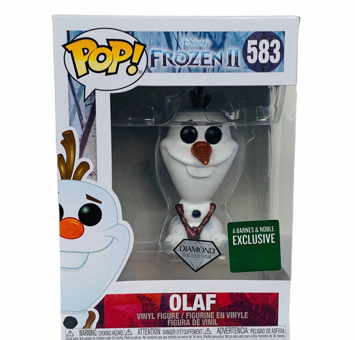 Funko pop Olaf 583 diamond exclusive NIB