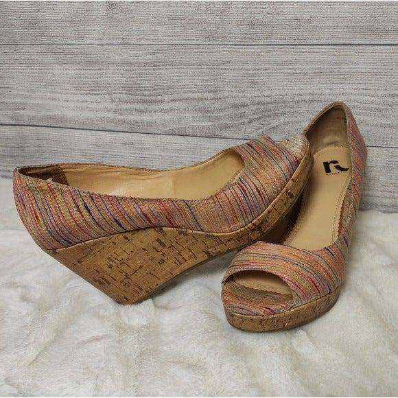 Report Cork wedge heels - 8