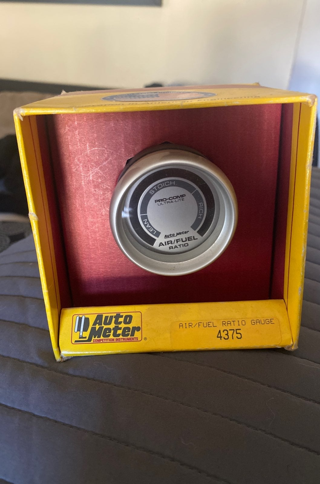 Auto meter air/fuel ratio gauge 4375