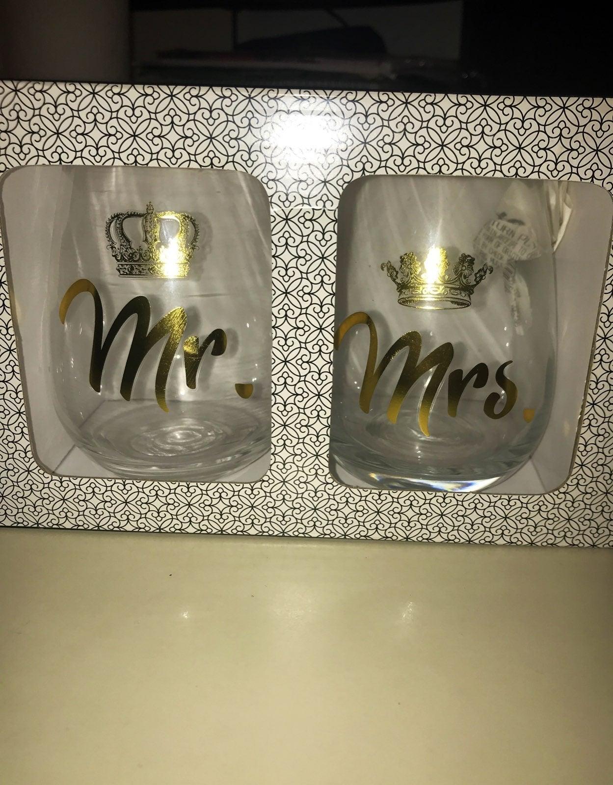 Better Together: 2 Stemless Wine Glasses