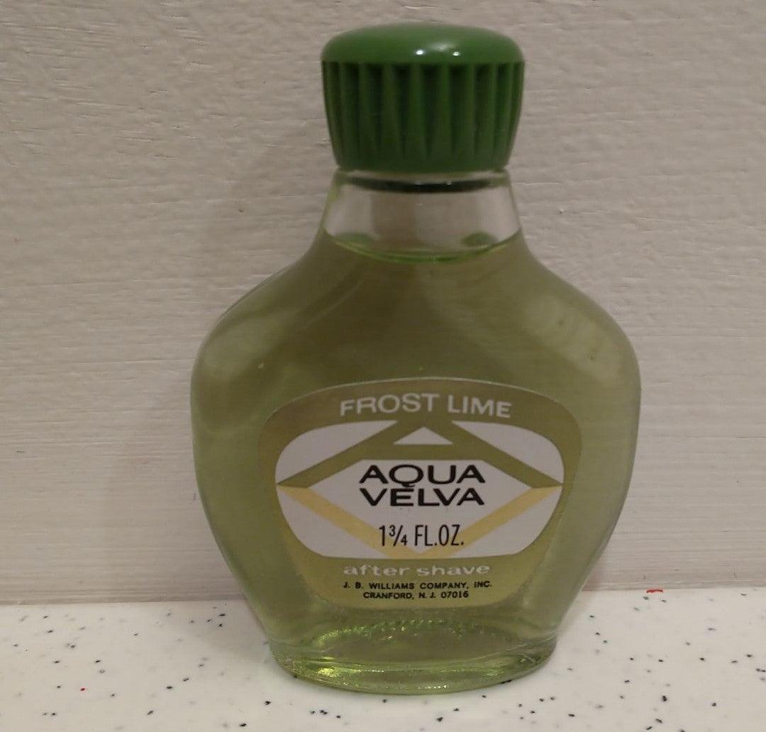Vintage Aqua Velva Frost Lime Aftershave