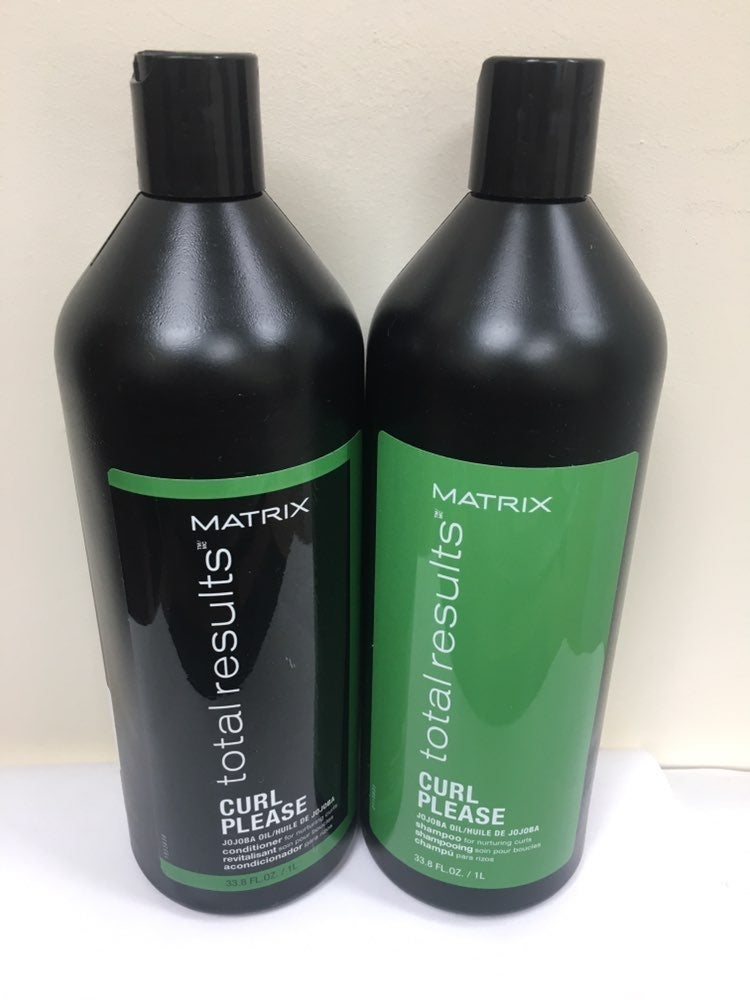 Matrix curl please shampoo and condition