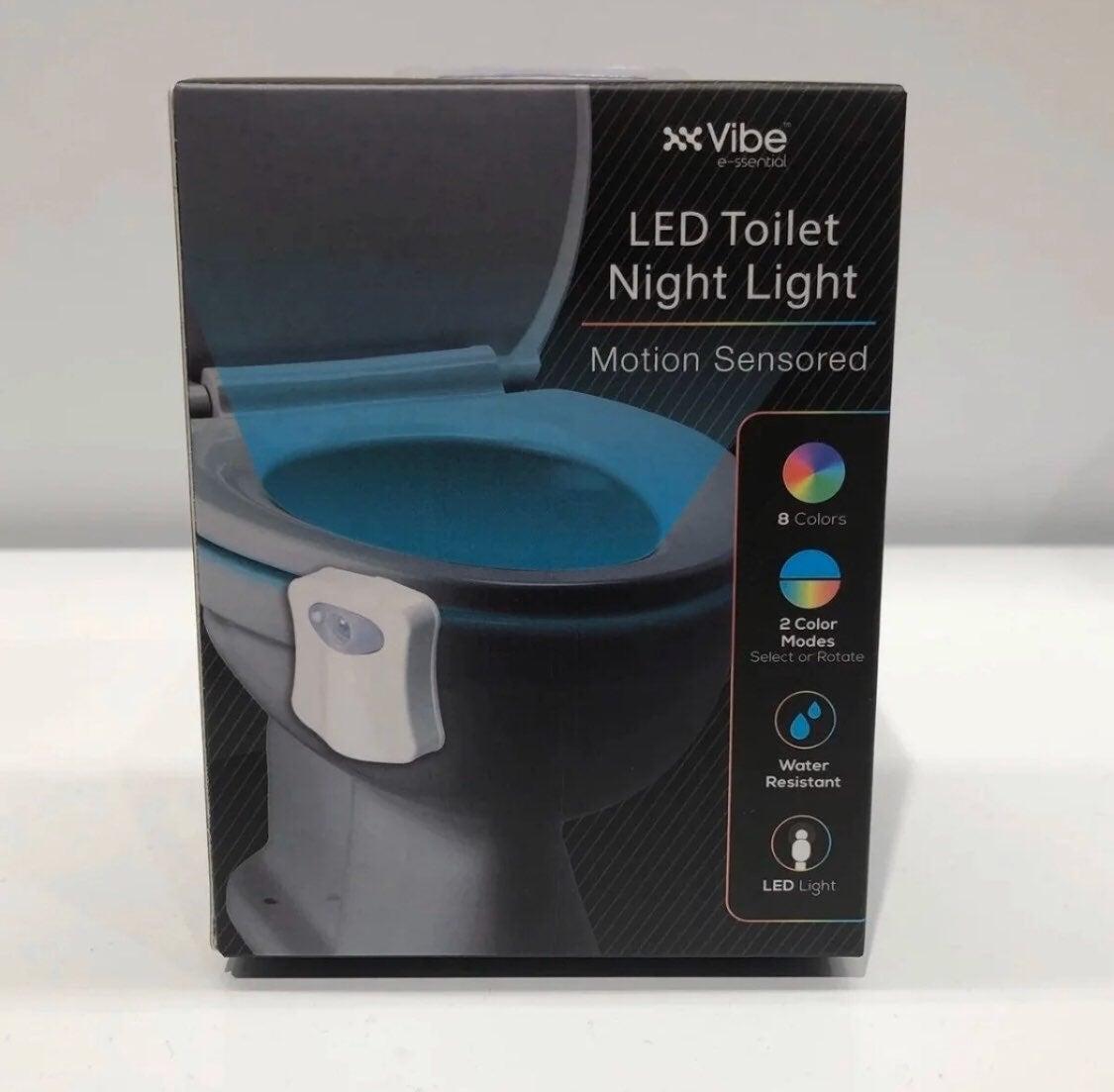 NEW LED Motion Sensor Toilet Night Light