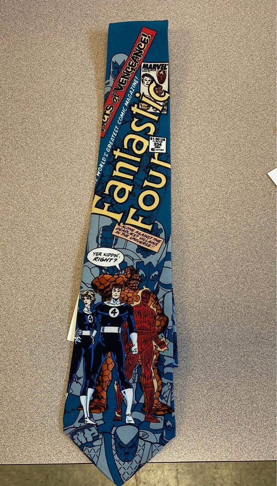 Vintage Fantastic Four Necktie w/tags
