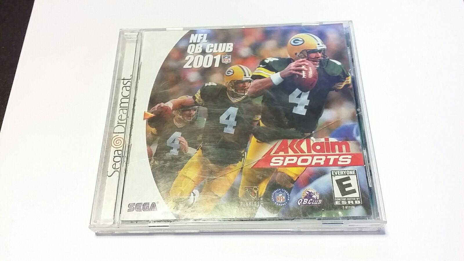 NFL QB CLUB 2001 Sega Dreamcast