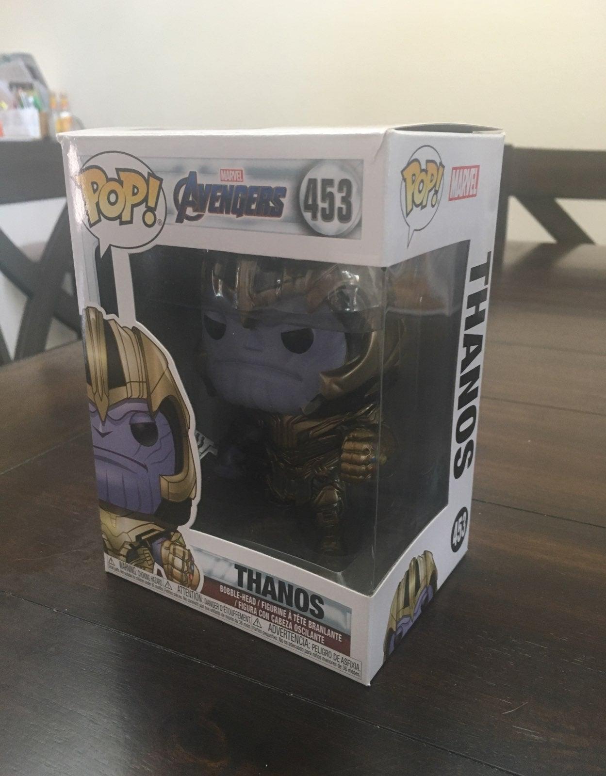 Avengers Endgame Thanos Funko Pop