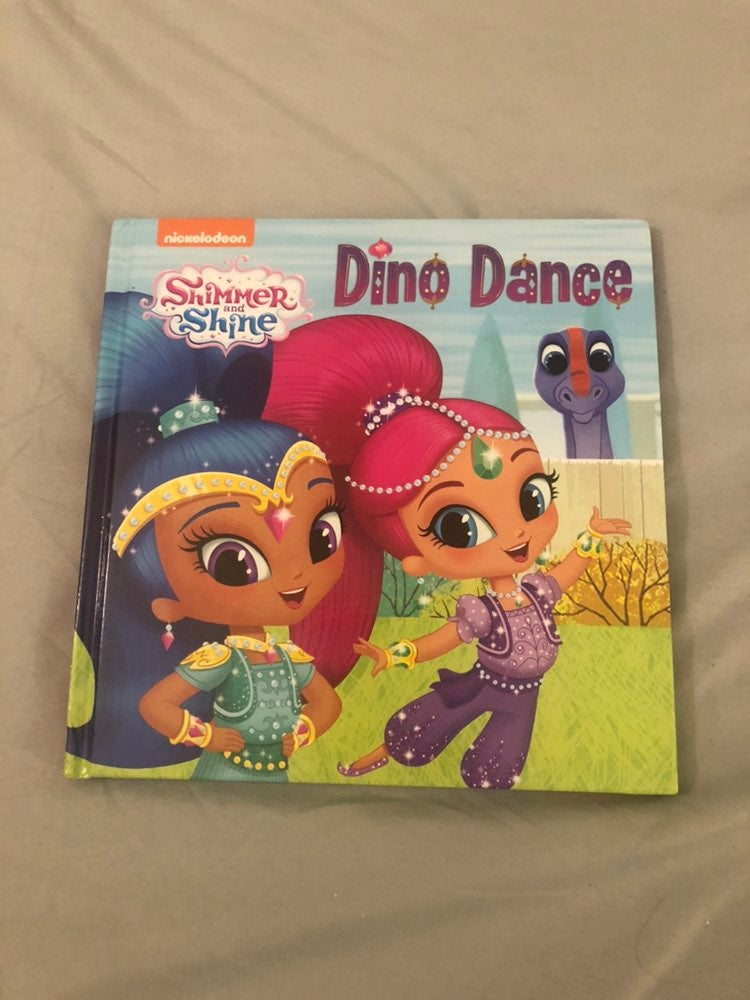 Shimmer and Shine book