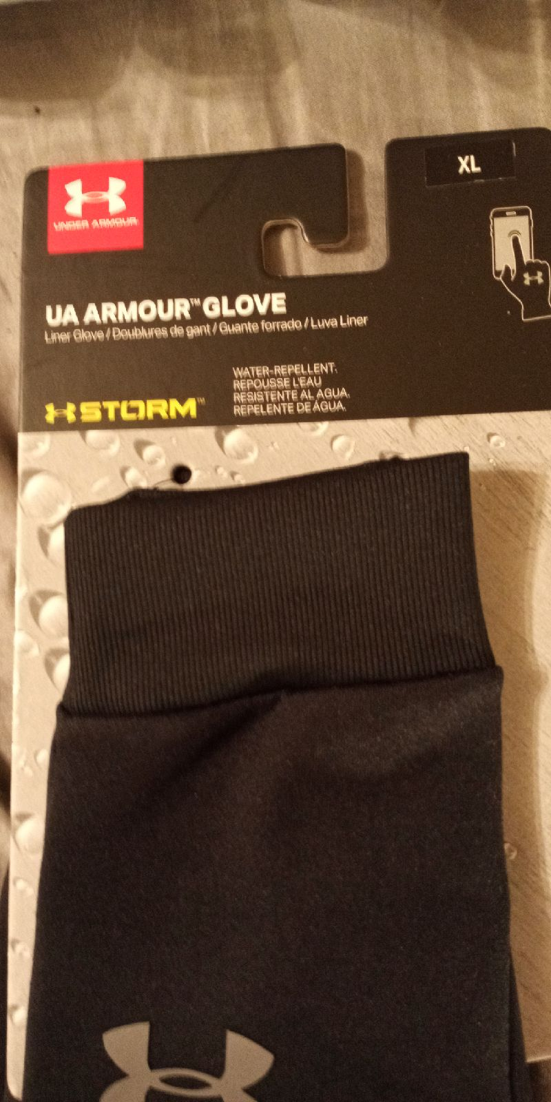 Under armor h storm water repellent can