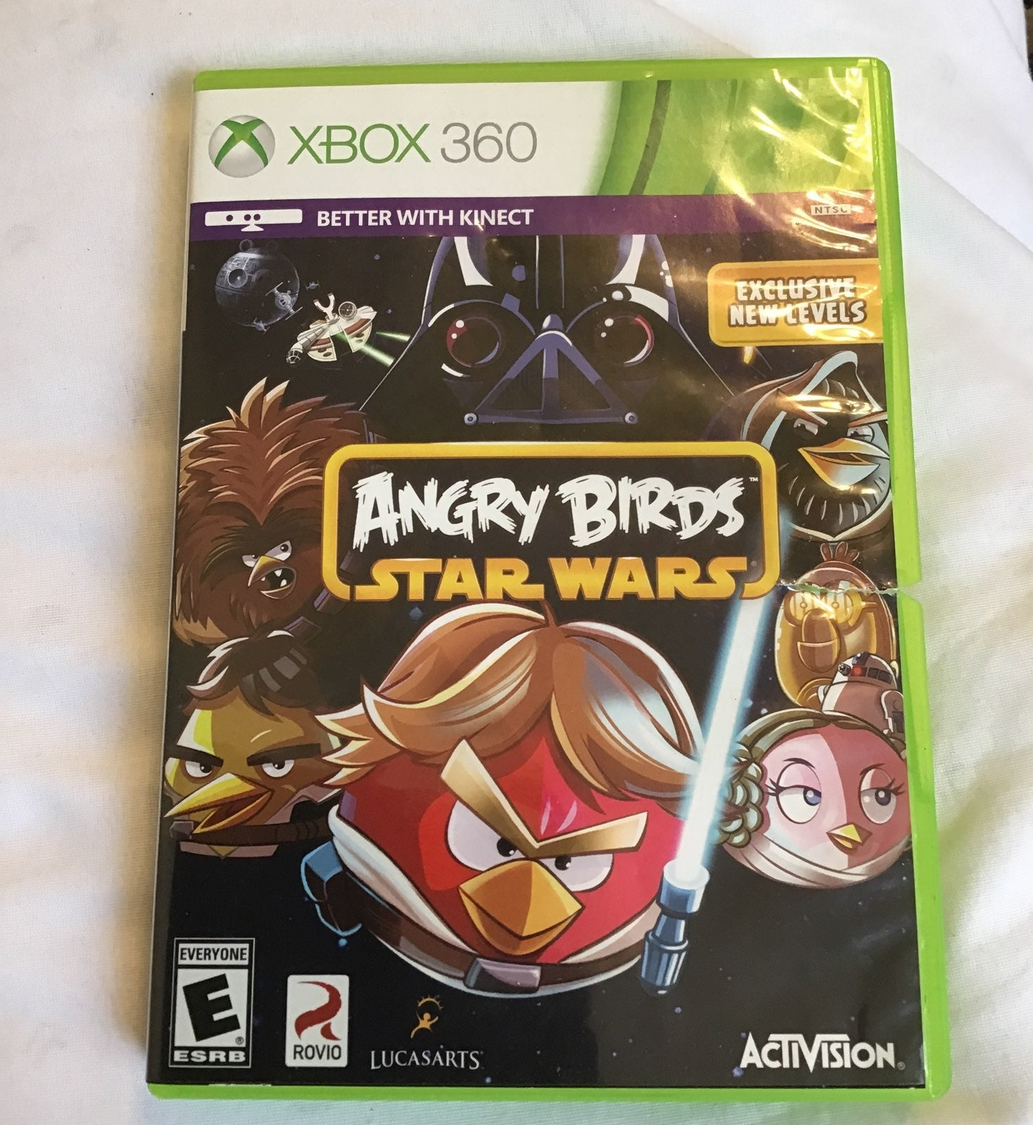 Xbox 360 Kinect Angry Birds Star Wars, g