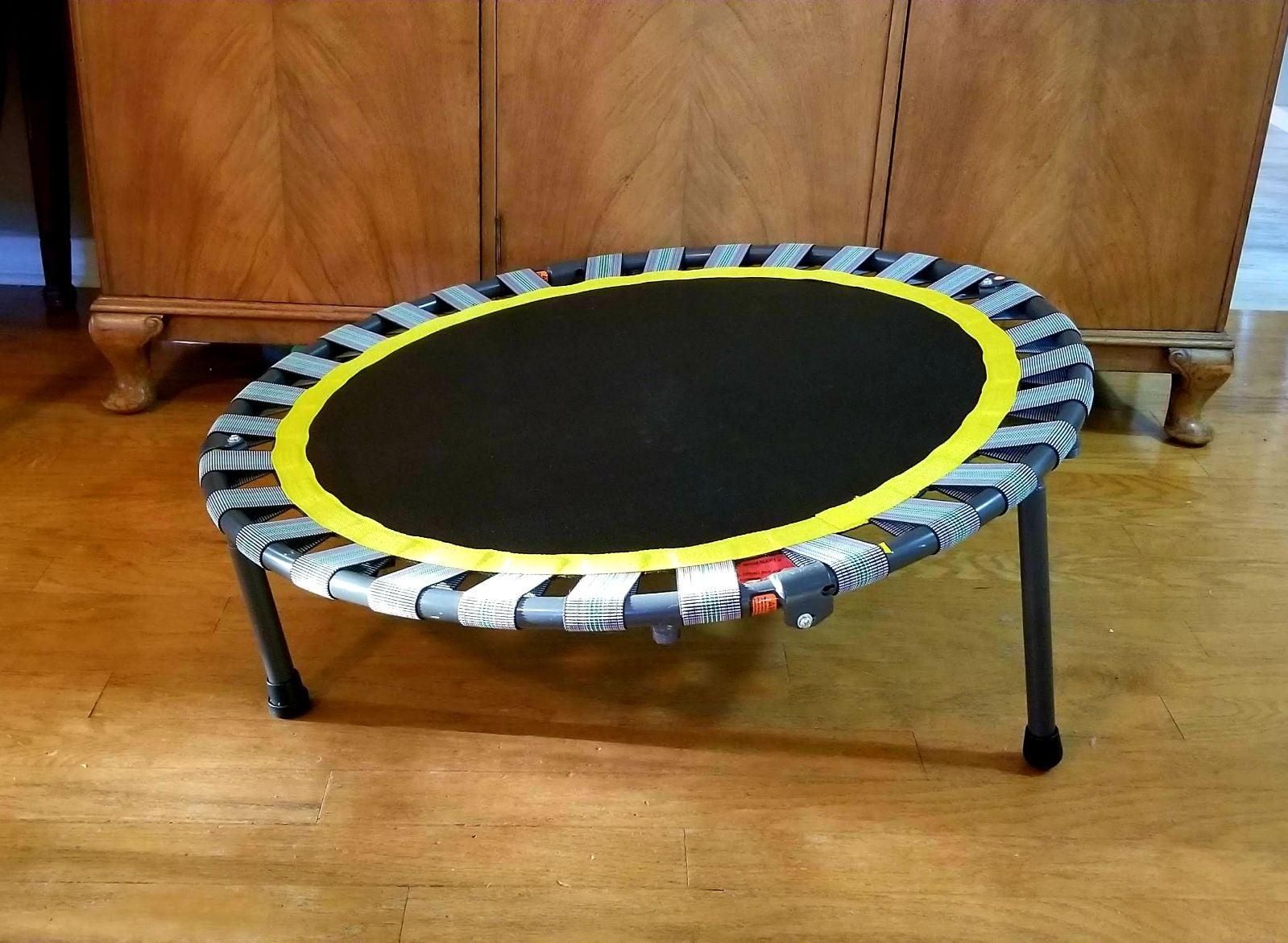 Workout Trampoline Folding Rebounder Exe