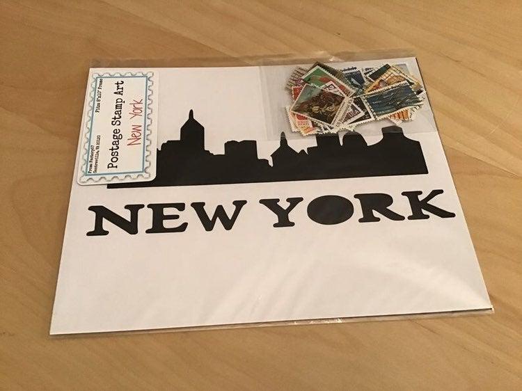 DIY New York Postage Kit