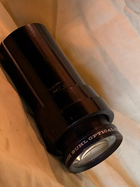 20 in E.F.L. Super wide lens