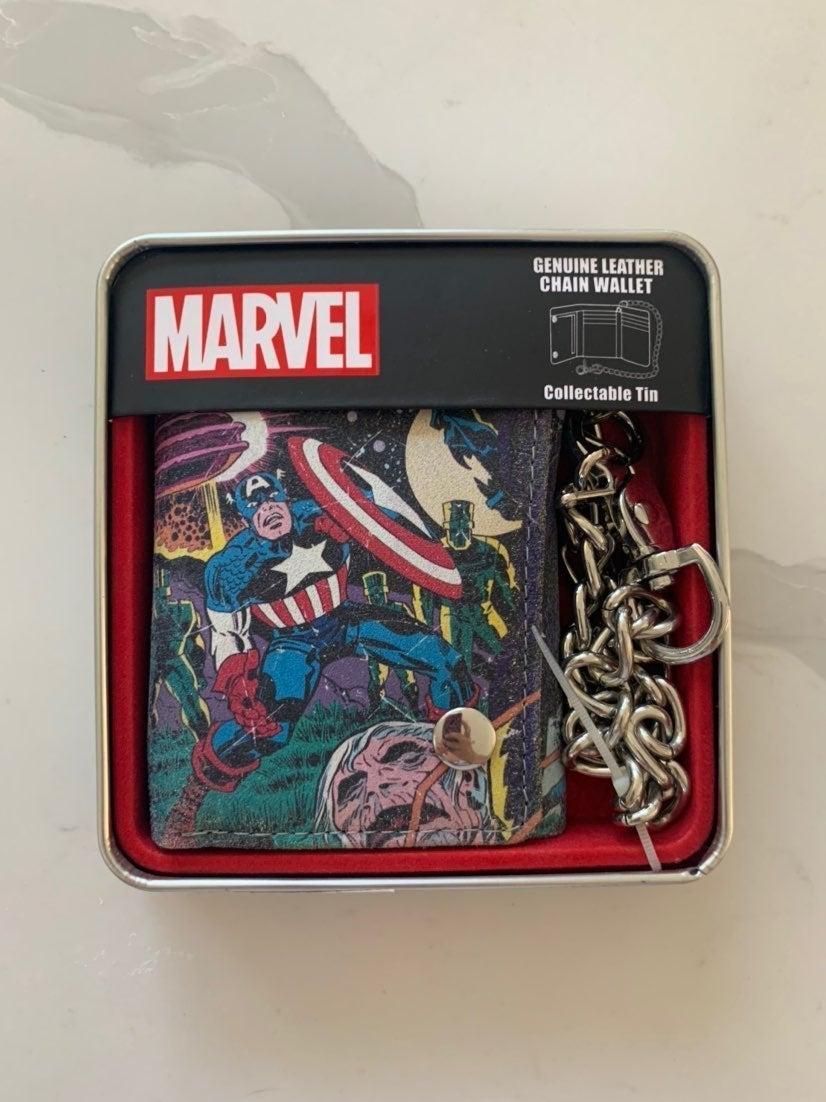 Marvel Capt'n America Leather Wallet