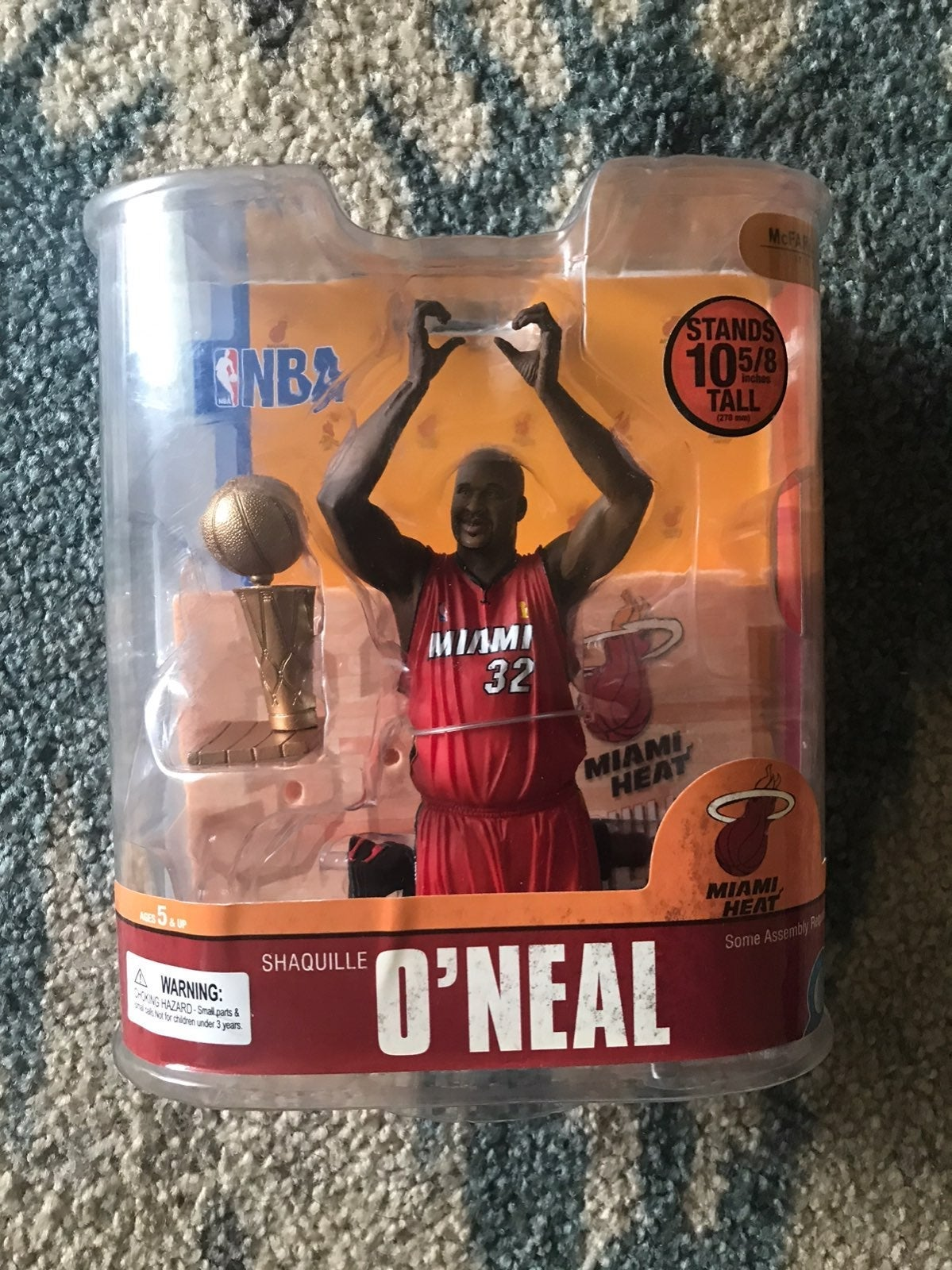 Mcfarlane shaquille oneal heat