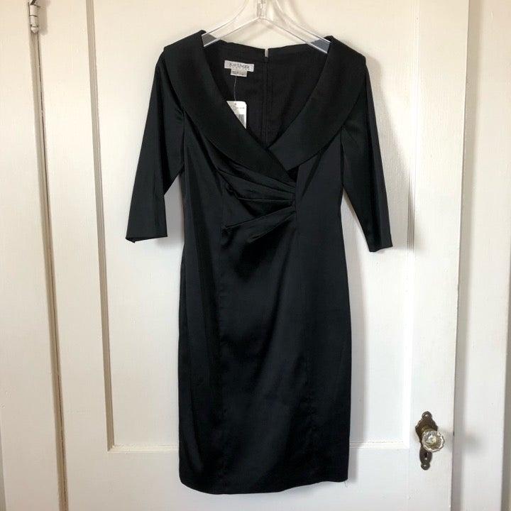 Kay Unger New York Black Cocktail Dress
