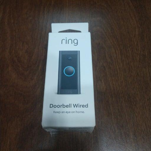 Ring Wired Doorbell Camera