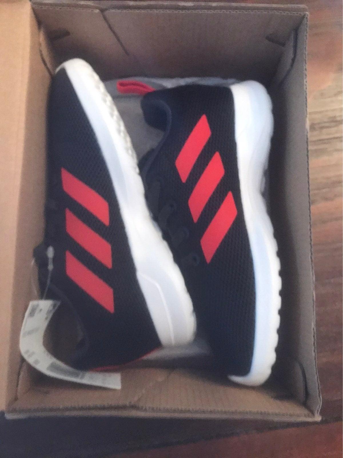Toddler adidas sneakers size 10 NIB