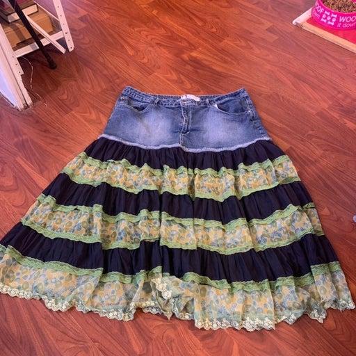 Plus size skirt womens