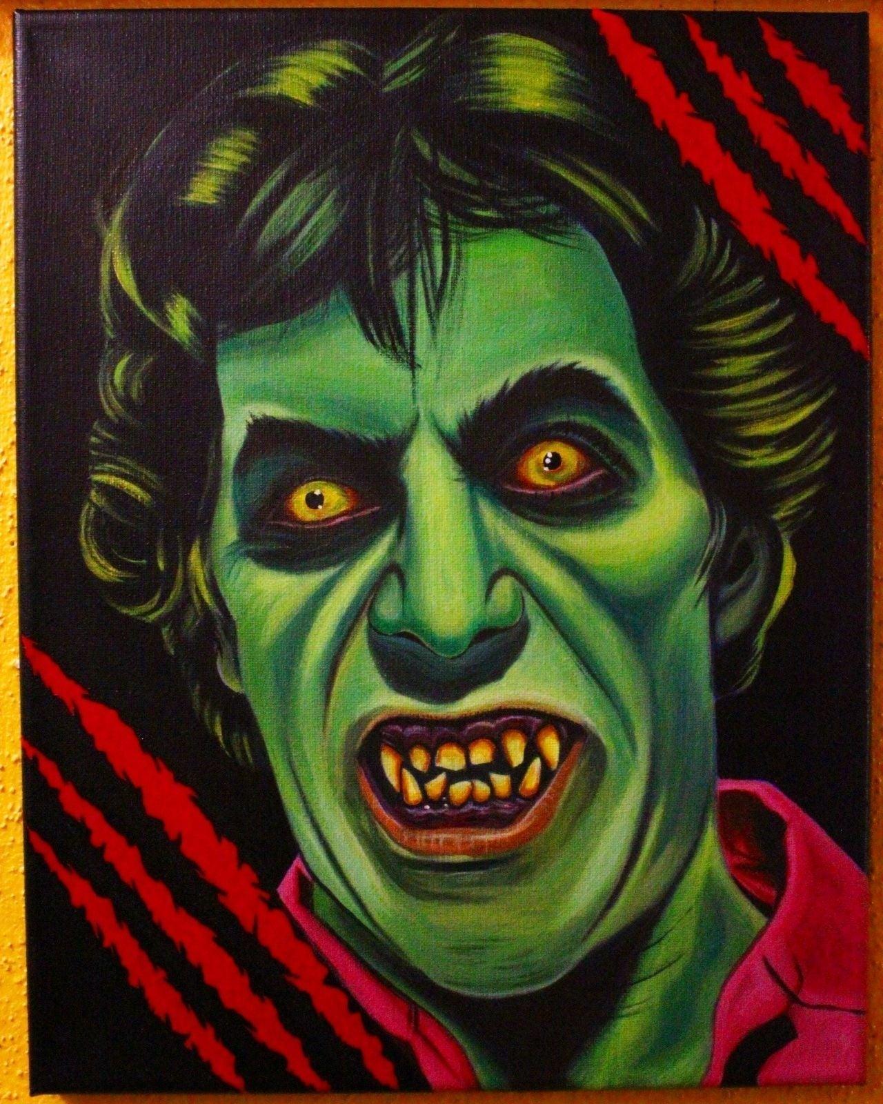 American Werewolf In London Painting