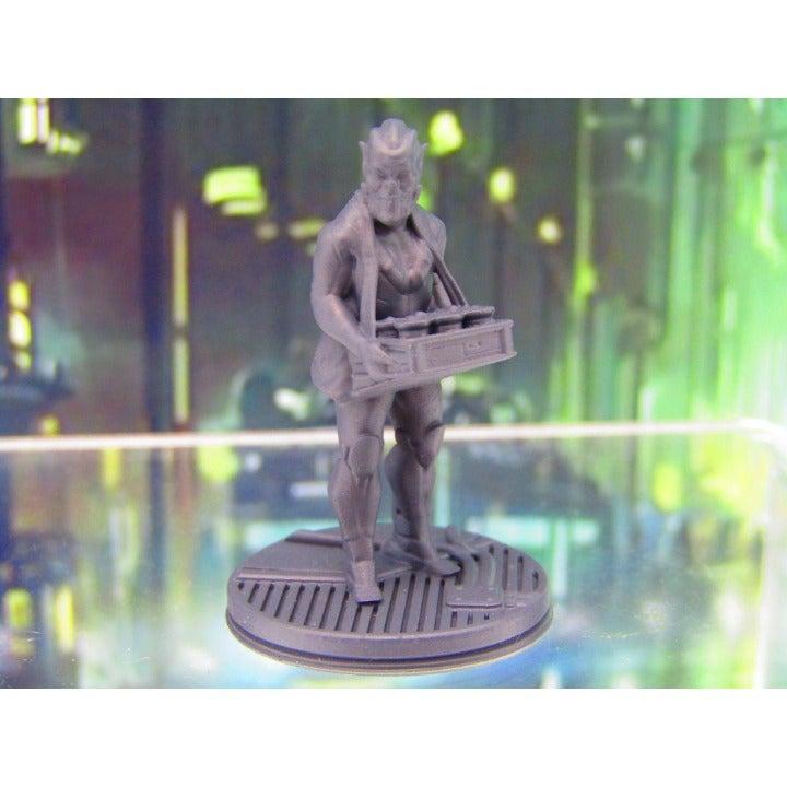 Alien Space Pub Food Vendor 3D Print