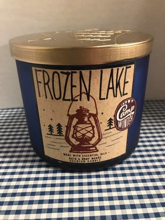 B&BW Frozen Lake Candle