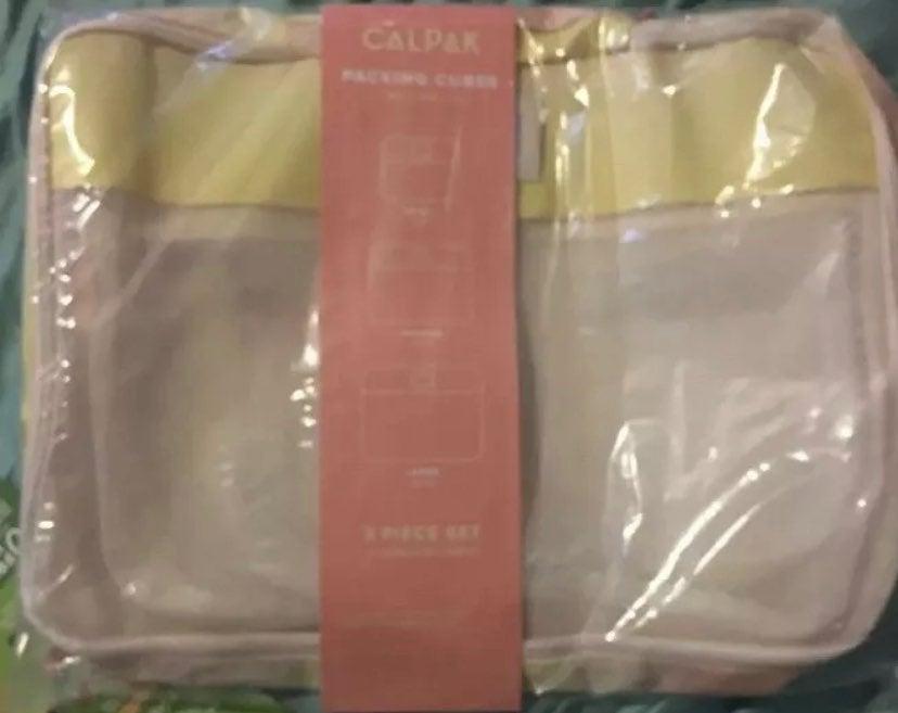 Calpak 3 pc packing cubes SORBET