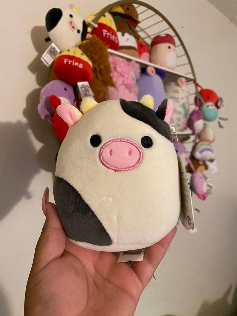 """Squishmallow 5"""" Connor Cow"""
