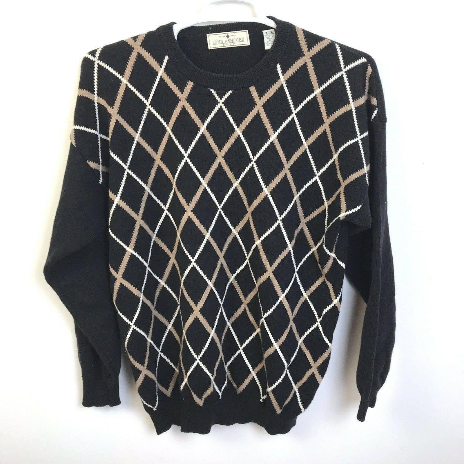 John Ashford Golf Sweater, Size XL