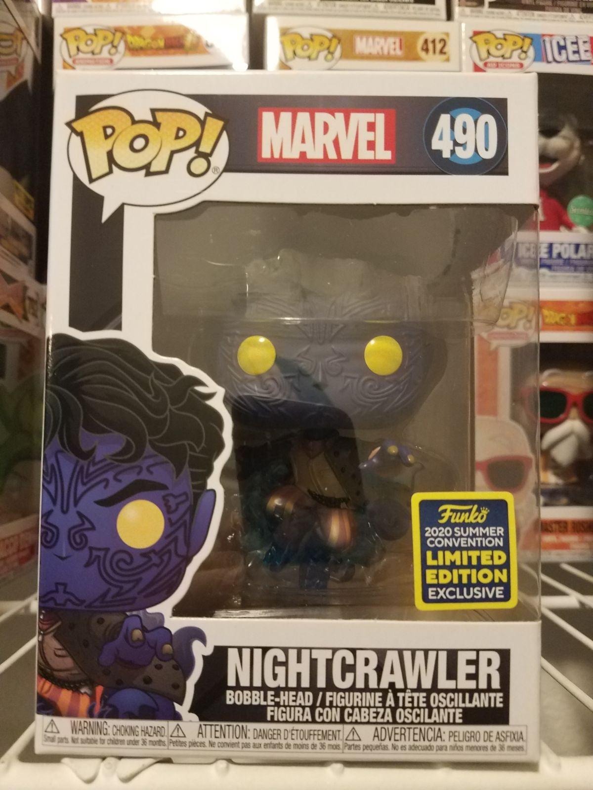 SDCC Nightcrawler xmen funko pop