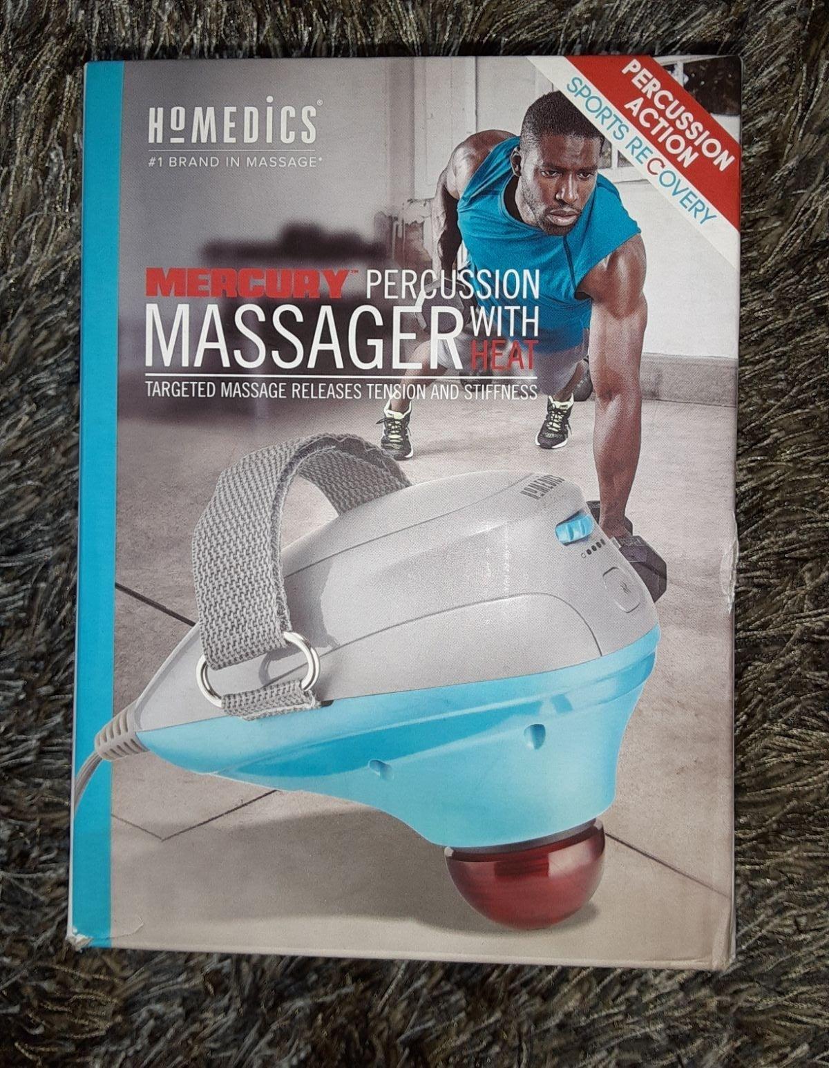 Homedics massager...like new, in box