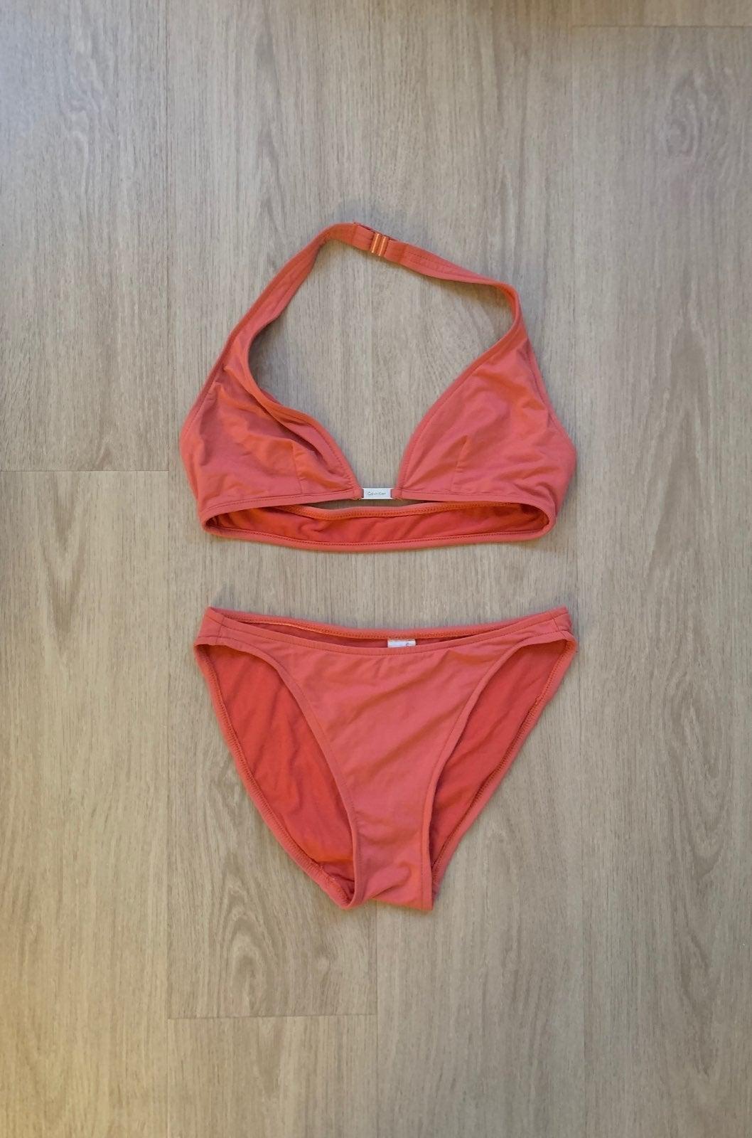Calvin Klein Bikini Set (Orange / Pink)