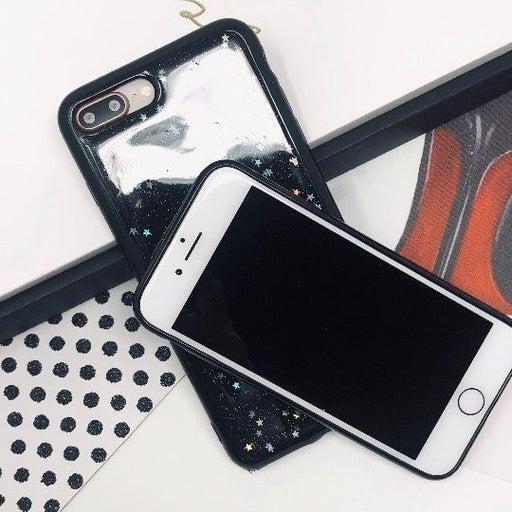 NEW iPhone 6  Black Starry Night Case