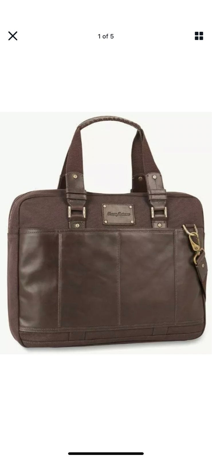 Tommy Bahama Tobaco Collection Briefcase
